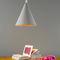 Pendant lamp / contemporary / fiberglass / in Nebulite® MATT : JAZZ CEMENTO in-es artdesign