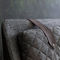 double bed / contemporary / with upholstered headboard / with tufted headboard