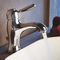 washbasin mixer tap / metal / bathroom / 1-hole