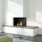 Gas fireplace / multi-fuel / wood-burning / contemporary KOMBIFIRE dim\'ora