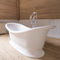 Freestanding bathtub / oval / composite / stone BW.BA Kenny&Mason