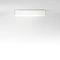 contemporary ceiling light / square / rectangular / glass