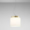 Pendant lamp / contemporary / metal / glass SEGESTA PRANDINA