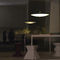 Pendant lamp / contemporary / blown glass / chromed metal EXTRA PRANDINA