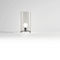 table lamp / traditional / blown glass / white