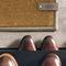 contemporary rug / plain / polyamide / rectangular