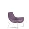 contemporary fireside chair / fabric / painted metal / waterproof