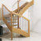 Quarter-turn staircase / wooden steps / wooden frame / without risers OXA FONTANOT - ALBINI & FONTANOT