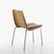 Traditional chair / with armrests / stackable / molded plywood MILLEFOGLIE by Biagio Cisotti & Sandra Laube PLANK