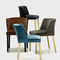 contemporary chair / upholstered / fabric / ash
