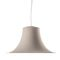 pendant lamp / contemporary / polycarbonate / gray