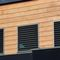 aluminum solar shading / for facades / orientable