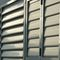 steel solar shading / for facades / orientable