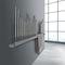 hot water towel radiator / electric / metal / contemporary