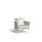 Contemporary armchair / fabric / rope / commercial CASCADE MANUTTI