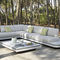 Modular sofa / contemporary / outdoor / fabric ELEMENTS   MANUTTI