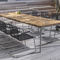 contemporary dining table / oak / teak / American walnut