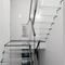 straight staircase / half-turn / glass steps / glass frameLAMINATION STRENGTHCantifix