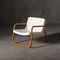 Contemporary armchair / beech / steel / low-density polyethylene (LDPE) TIME OUT  SERRALUNGA