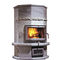 Wood heating stove / contemporary / stone / free-standing SABRINA 1 NunnaUuni Oy