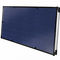 flat thermal panel / for water heating / with anti-reflective glass / insulated
