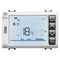 programmable thermostat / recessed wall / for air conditioning / with digital display