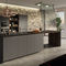 contemporary kitchen / wood veneer / lacquered wood / melamine