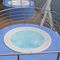 Built-in hot tub / round / 8-seater / outdoor ALIMIA EXPERIENCE Jacuzzi®