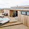 built-in hot tub / above-ground / rectangular / 5-person