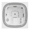 built-in hot tub / square / 6-person / indoor