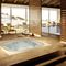 Built-in hot tub / square / 6-seater / indoor Enjoy Jacuzzi®