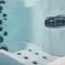Above-ground hot tub / square / 6-seater / outdoor J-375™ Jacuzzi®