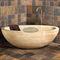 free-standing bathtub / oval / natural stoneCastello Luxury Baths