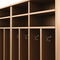 wooden locker / for public buildings / for sports facilities / for schools