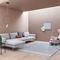 Modular sofa / contemporary / fabric / leather COLLECTION FLAMINGO by Damian Williamson Zanotta