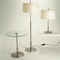 Table lamp / contemporary / metal / linen DIANA by Federico Correa, Alfonso Milá & Miguel Milá Santa & Cole