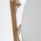 Floor lamp / original design / wooden / blown glass CESTA by Miguel Milá, 1962 Santa & Cole