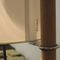 Floor-standing lamp / contemporary / solid wood / plastic TMM by Miguel Milá Santa & Cole
