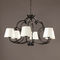 Traditional chandelier / fabric / bronze CHAMBORD Oi diffusion