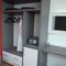 Contemporary walk-in wardrobe / wooden HOTEL ROOM/OPEN WARDROBE WITH DRAWERS/ZEUS 38MM/AR100 MOBILSPAZIO S.r.l