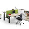 Workstation desk / wood veneer / contemporary / commercial WINEA ECO WINI Büromöbel Georg Schmidt GmbH & Co. KG