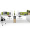 Commercial desk and storage set WINEA SLIM by Michael Hilgers WINI Büromöbel Georg Schmidt GmbH & Co. KG
