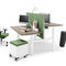 wood veneer desk / melamine / contemporary / commercial