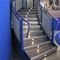 Half-turn staircase / quarter-turn / straight / stainless steel steps Coating staircase Planium