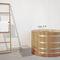 ladder towel rack / more than 3 bars / floor-standing / solid wood