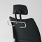 Contemporary executive chair / fabric / leather / swivel THYME Fantoni