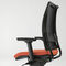 Contemporary office armchair / fabric / on casters / with armrests THYME Fantoni