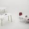Contemporary work table / oak / beech / rectangular WOODS Fantoni