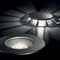 recessed floor light fixture / recessed wall / LED / round