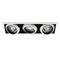 recessed ceiling spotlight / indoor / LED / halogen